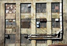 Industriële ruïne Stock Afbeeldingen