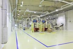 Industriële ruimte stock foto