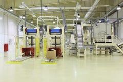 Industriële ruimte stock foto's