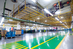 Industriële ruimte Royalty-vrije Stock Foto