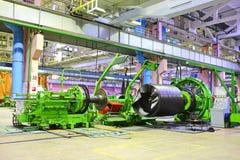 Industriële ruimte Stock Afbeelding