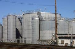 Industriële scène Stock Afbeeldingen