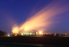 Industriële schoorsteen Stock Foto
