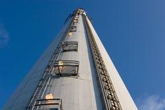 Industriële schoorsteen 3 Royalty-vrije Stock Foto's