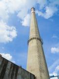 Industriële schoorsteen Stock Afbeeldingen