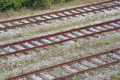 Industriële Spoorwegen stock afbeelding