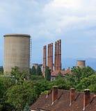 Industriële stad Royalty-vrije Stock Afbeelding
