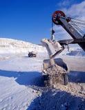 Industriële steengroeven Stock Fotografie