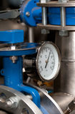 Industriële temperatuurmeter Stock Fotografie