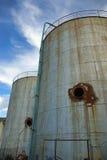 Industriële torens Stock Fotografie