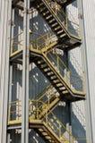 Industriële trap Stock Afbeelding