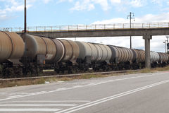 Industriële trein Stock Afbeelding