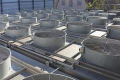 Industriële ventilators royalty-vrije stock afbeelding