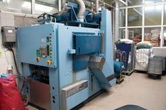 Industriële wasmachines Stock Afbeeldingen