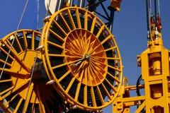 Industriële wielen Stock Foto's