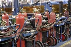 Industriële winkel Stock Afbeeldingen