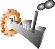 industri stock illustrationer