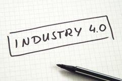 Industria 4 imagen de archivo