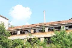 Industria abandonada Italia Imagen de archivo libre de regalías