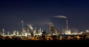 Industria alla notte Immagine Stock Libera da Diritti