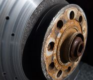 Industria automotriz - desgaste y rasgón Imagen de archivo
