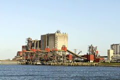 Industria carboniera Fotografia Stock