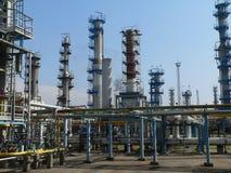 Industria chimica Fotografia Stock