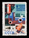 Industria chimica per agricoltura, circa 1964 Immagini Stock