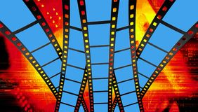 Industria cinematografica Immagini Stock