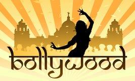Industria cinematografica dell'indiano di Bollywood illustrazione di stock