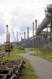 Industria de acero pesada Imagen de archivo libre de regalías