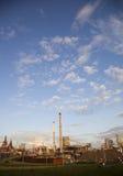 Industria de acero pesada en la fábrica de acero Imagen de archivo libre de regalías