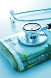 Industria de la atención sanitaria o costes de la atención sanitaria imagenes de archivo