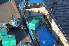 Industria de la bahía de Tokio imagen de archivo libre de regalías