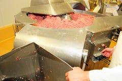 Industria de la carne Imágenes de archivo libres de regalías