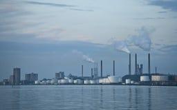 Industria de la contaminación Foto de archivo