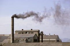 Industria de la contaminación Fotografía de archivo