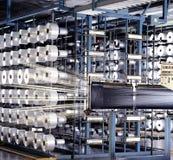 Industria de la cuerda de rosca Fotos de archivo