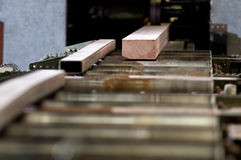 Industria de la madera de construcción Fotografía de archivo