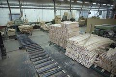 Industria de madera de la serrería imagenes de archivo