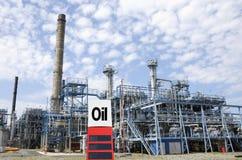 Industria de petróleo petroquímica Fotografía de archivo libre de regalías