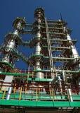 Industria de refino de petróleo rusa Fotos de archivo libres de regalías