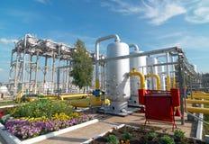 Industria de transformación del gas Imagen de archivo libre de regalías