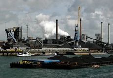 Industria dei metalli pesanti Immagine Stock Libera da Diritti