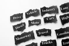 Industria del automóvil Foto de archivo libre de regalías