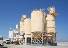 Industria del cemento Imágenes de archivo libres de regalías