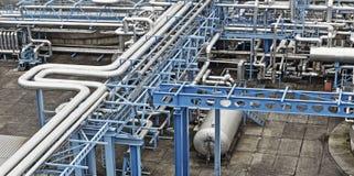 Industria del gas e del petrolio immagini stock