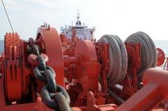 Industria del gas e del petrolio - petroliera del grude Fotografie Stock Libere da Diritti