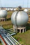 Industria del gas y de petróleo. imagen de archivo libre de regalías