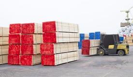 Industria del legno immagini stock